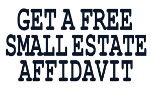 Free Small Estate Affidavit Forms