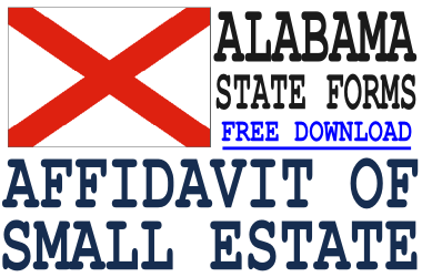 Alabama Small Estate Affidavit Form